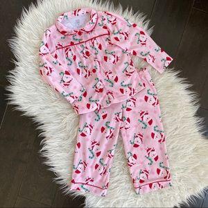 Carter's Just One You Santa Pajamas